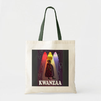 Kwanzaa - carrying the water tote bag
