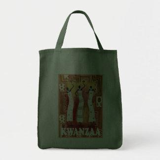 Kwanzaa - celebrating African culture,dancing Tote Bag