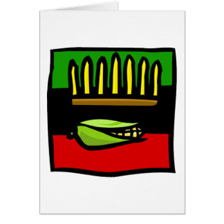 Kwanzaa Corn Greeting Card