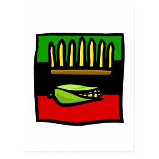 Kwanzaa Corn Postcard