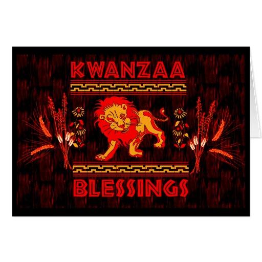 Kwanzaa Dancers Greeting Card