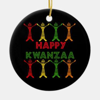 Kwanzaa Dancers Christmas Ornament