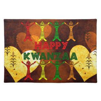 Kwanzaa Dancers Placemat