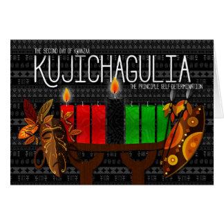 Kwanzaa Day 2 Kujichagulia Self Determination Greeting Card