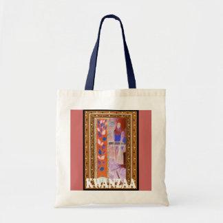 Kwanzaa -decorative art tote bag