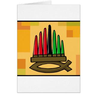 Kwanzaa Fish Cards