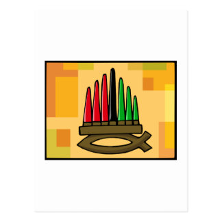 Kwanzaa Fish Postcard