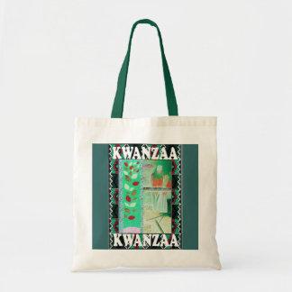 Kwanzaa - FLORAL DESIGN Tote Bag