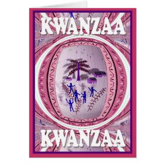 Kwanzaa, In the village Card