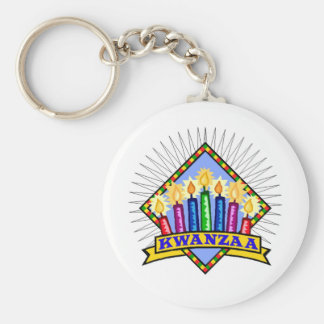 Kwanzaa Key Ring