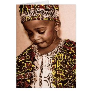 Kwanzaa love & grace greeting card