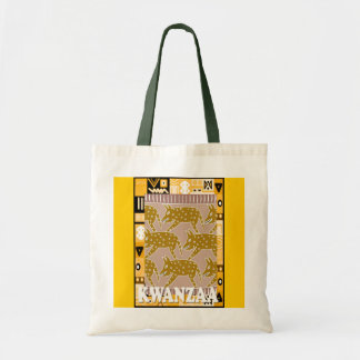 Kwanzaa -Running with the herd Tote Bag