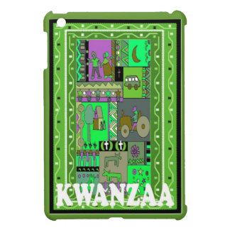 Kwanzaa,Scenes from village life Case For The iPad Mini
