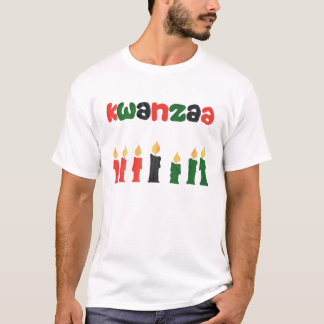 Kwanzaa T-shirt with Candles