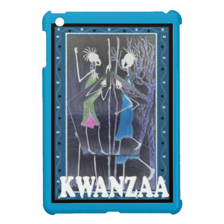 Kwanzaa, the meeting place case for the iPad mini