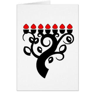 Kwanzaa Tree Kwanzaa Holiday Greeting Cards