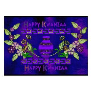 Kwanzaa Vase Pack Of Chubby Business Cards