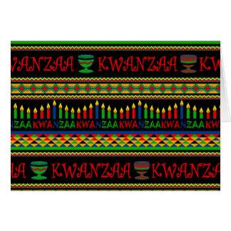Kwanzaa Wall Kwanzaa Holiday Greeting Cards