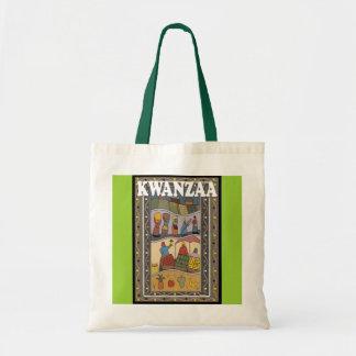 Kwanzaa - women's work tote bag
