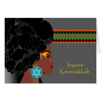 Kwanzukkah, Interfaith Kwanzaa and Hanukkah Greeting Card