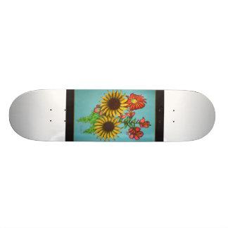 kwflowersskateboard custom skate board