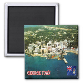 KY - Cayman Islands - George Town An Aerial View Magnet