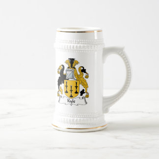 Kyle Family Crest Beer Stein