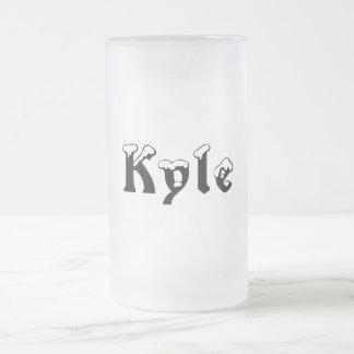 Kyle-Name Style-Frosted Mug