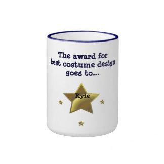 KYLE: The Award For Best Costume Design Ringer Mug