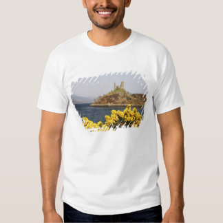 Kyleakin, Scotland. The ancient ruins of 2 Shirts