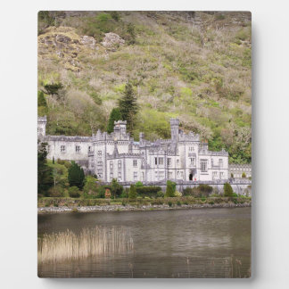 Kylemore Abbey Castle in Ireland Plaques