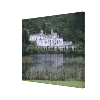 Kylemore Abbey, Connemara, County Galway, Canvas Print