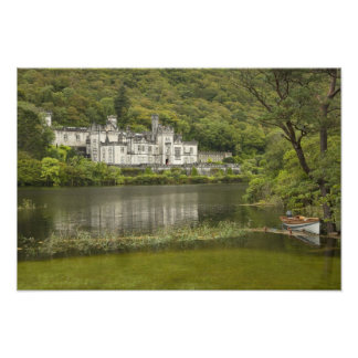 Kylemore Abbey, County Galway, Ireland, Photo Print