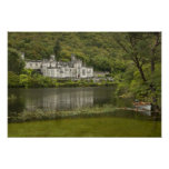 Kylemore Abbey, County Galway, Ireland, Poster