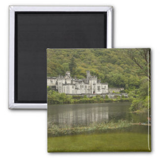 Kylemore Abbey, County Galway, Ireland, Square Magnet