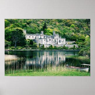 Kylemore Abbey Ireland Poster