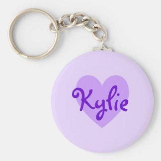 Kylie in Purple Key Ring