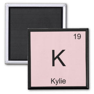 Kylie  Name Chemistry Element Periodic Table Magnet