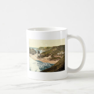 Kynance Cove, Cornwall, England vintage Photochrom Coffee Mug