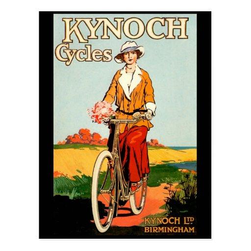 KYNOCH Cycles Postcards