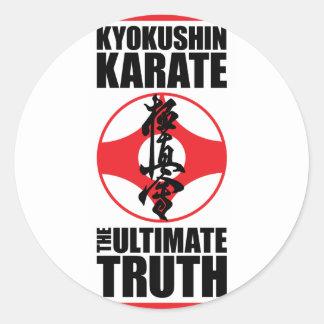 Kyokushin_0002.png Classic Round Sticker