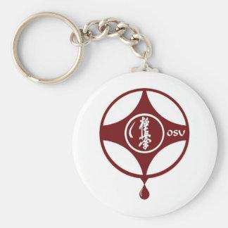 Kyokushin KANKU Basic Round Button Key Ring