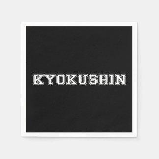 Kyokushin Karate Disposable Serviette