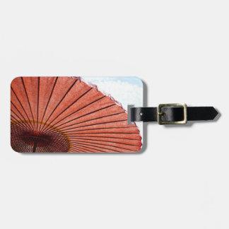 Kyoto luggage tag