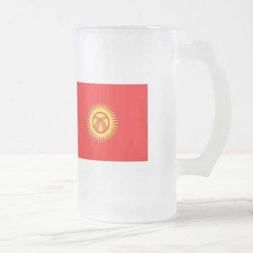 Kyrghyzstan Flag Mug