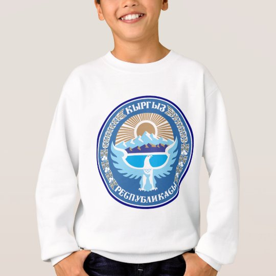 Kyrgyzstan coat of arms sweatshirt