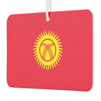 Kyrgyzstan Flag Car Air Freshener