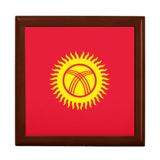 Kyrgyzstan Flag Gift Box