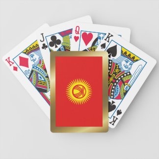 Kyrgyzstan Flag Playing Cards