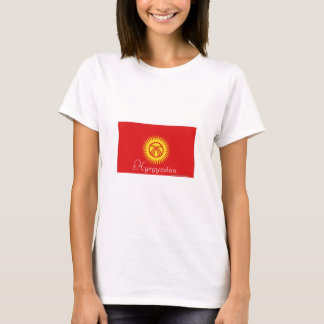 Kyrgyzstan flag tshirt